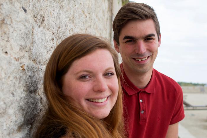 Marie A. et Sébastien S. Rencontre autour d'un hôtel en 2009