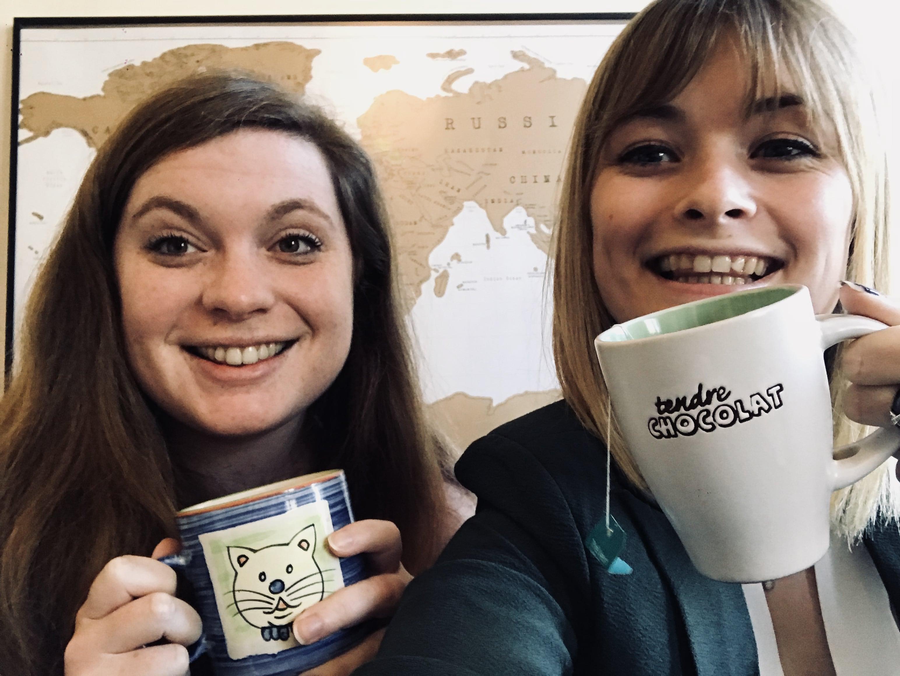 Chloé O. : une rencontre autour d'un thé